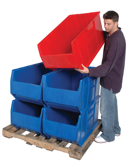 """36"""" deep stacking container"""